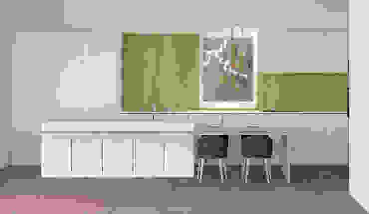 Cucina con isola Alessandra Sacripante Cucina moderna