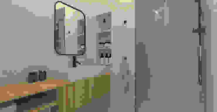 Apartamento AMM A78 Interiors Casas de banho minimalistas