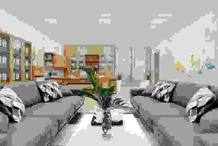 Thiết kế nội thất Công ty TNHH Thiết Kế Xây Dựng Xanh Hoàng Long Office spaces & stores Gỗ Wood effect