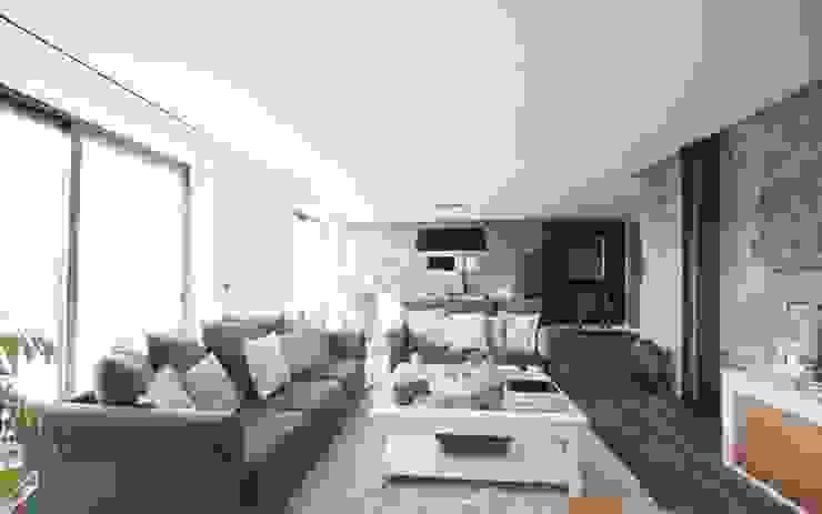 Propriété Générale International Real Estate Ruang Keluarga Gaya Rustic