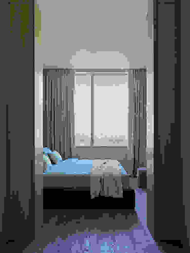 Дизайн бюро Татьяны Алениной Modern Bedroom Grey