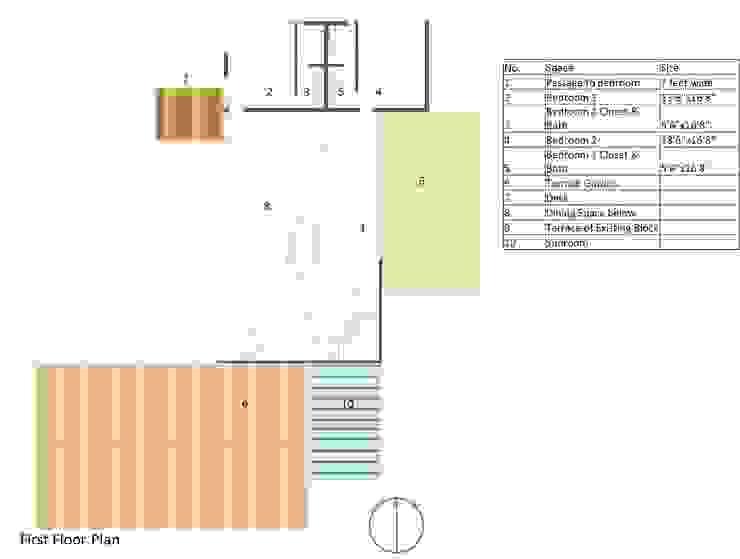 House in South Carolina- Plan NSBW Floors
