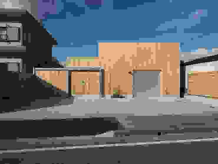 ai建築アトリエ Ausgefallene Häuser Holz