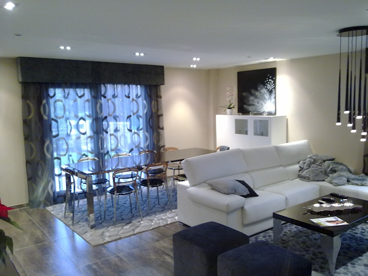 ARDEIN SOLUCIONES S.L. Modern Living Room MDF White