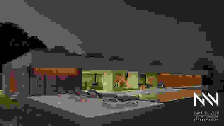 Habitação QEN ARTEQUITECTOS Casas modernas