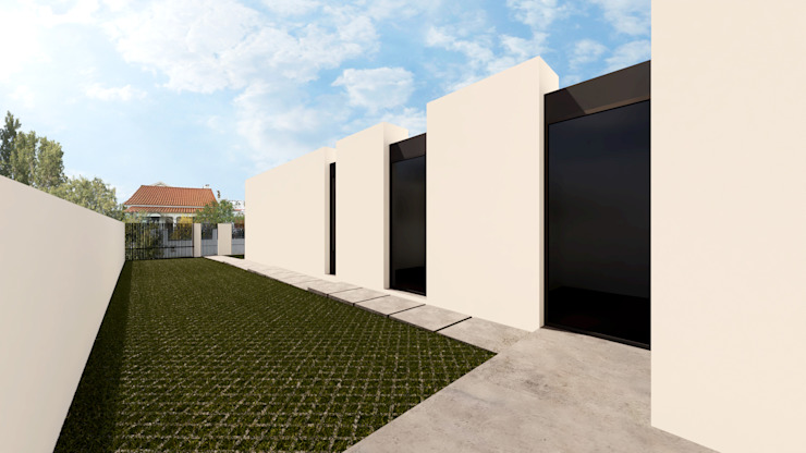 Linhas Simples Villa White