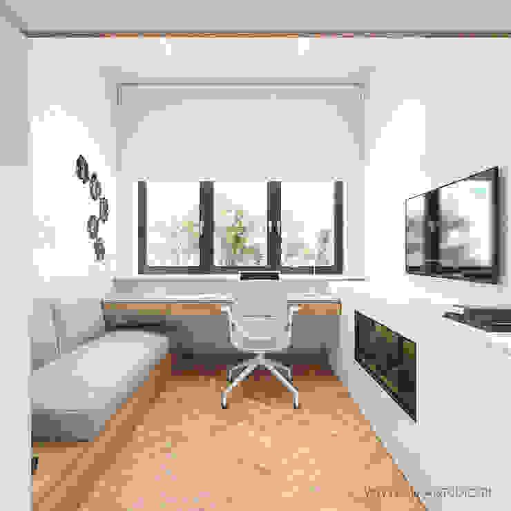 MIRAI STUDIO Boys Bedroom MDF White