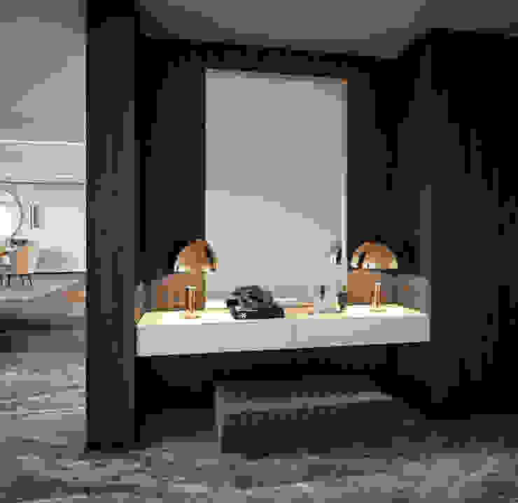 ByOriginal Salas de estilo moderno Acabado en madera