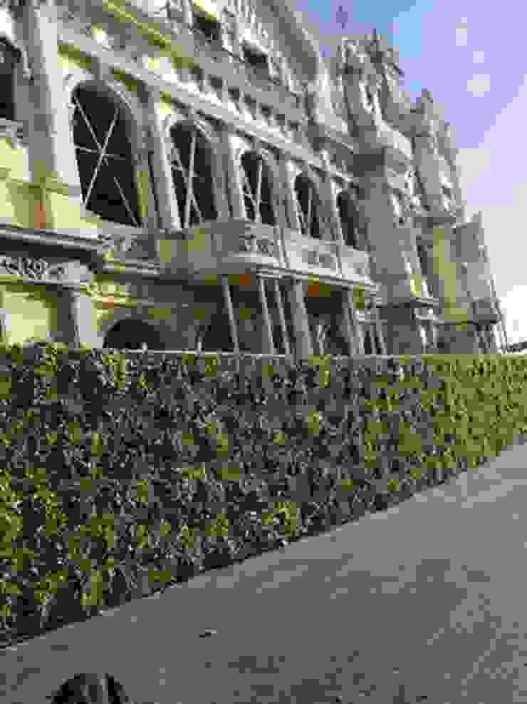 Placas jardín vertical artificial JARDINERIA DEL VALLES Jardines de estilo minimalista
