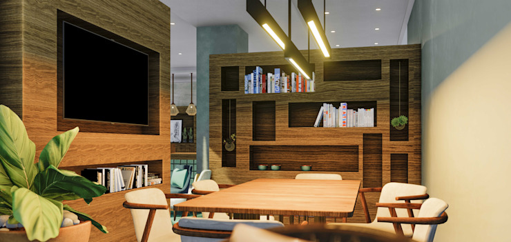 Propriété Générale International Real Estate Modern study/office