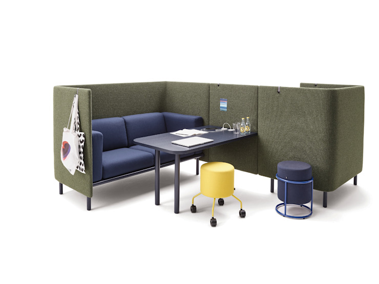 Floater Work Lounge COR Sitzmöbel Helmut Lübke GmbH & Co. KG ArbeitszimmerSchreibtische