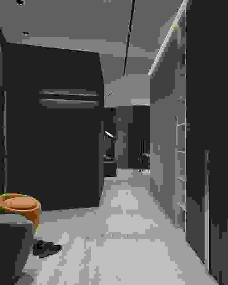 GraniStudio สไตล์ผสมผสาน ทางเดินห้องโถงและบันได