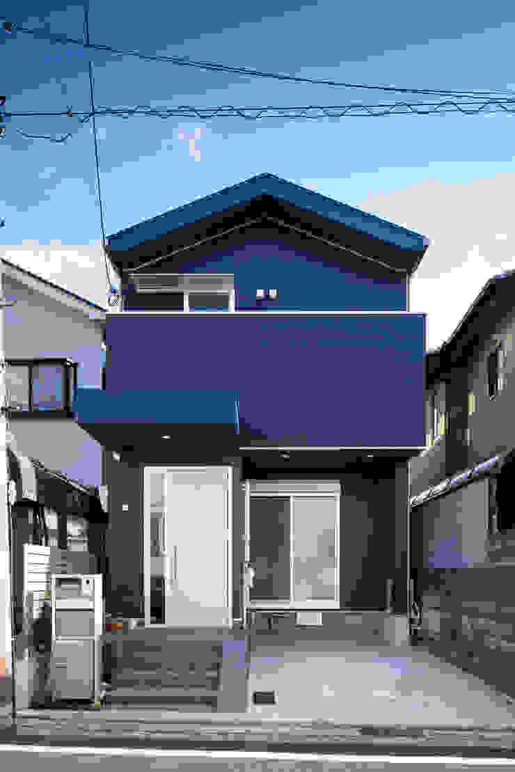 一級建築士事務所アトリエm Scandinavian walls & floors Metal Blue