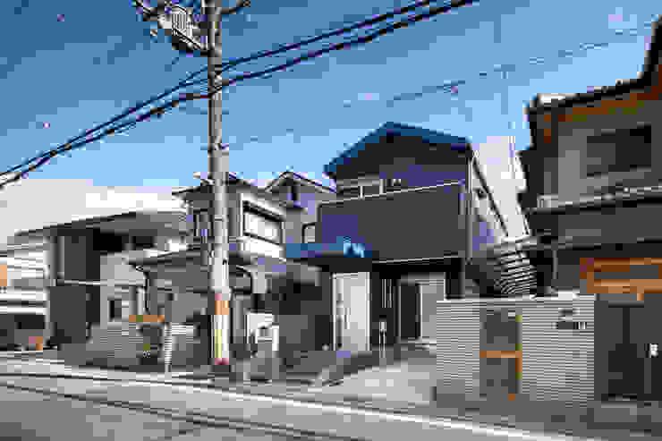 一級建築士事務所アトリエm Single family home Metal Blue