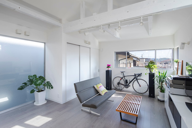 一級建築士事務所アトリエm Living room