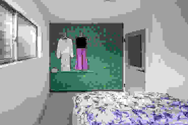 一級建築士事務所アトリエm Scandinavian style bedroom
