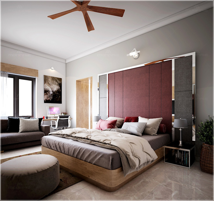 Bedroom design areas Premdas Krishna BedroomAccessories & decoration Wood Wood effect