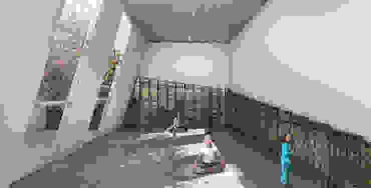 G._ALARQ + TAGA Arquitectos Minimalst style study/office