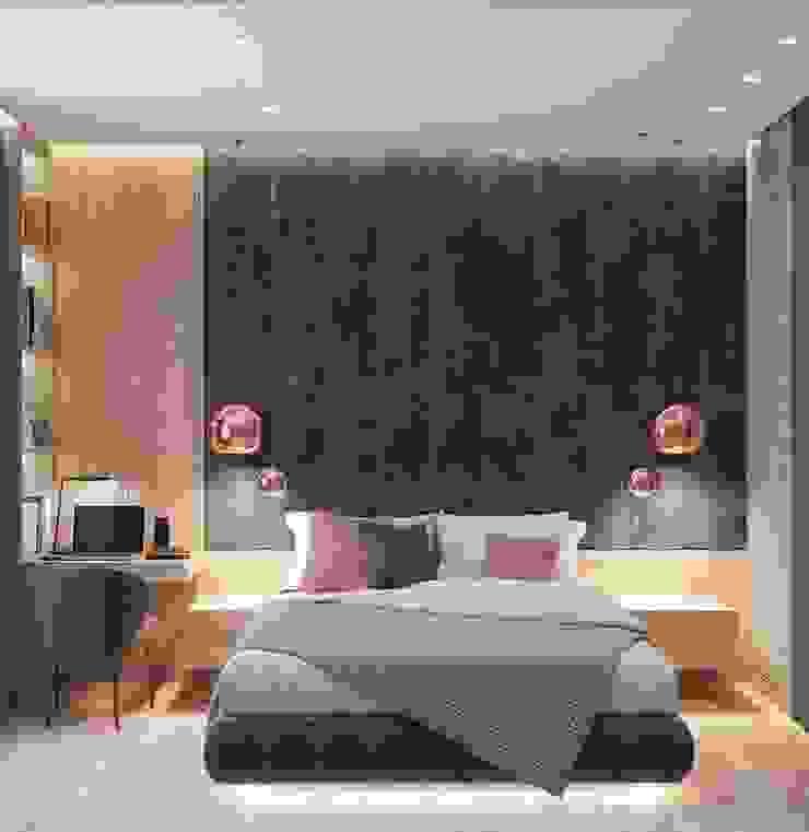 Master Bedroom HC Designs BedroomBeds & headboards Wood Pink