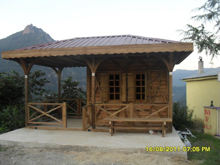 Gürsoy Kerestecilik Maisons rurales Bois Effet bois