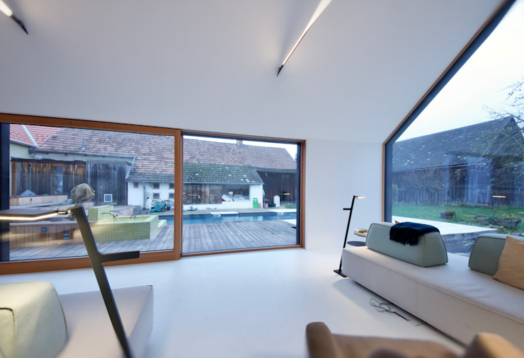 3rdskin architecture gmbh Living room