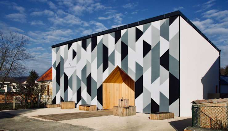3rdskin architecture gmbh Wooden houses