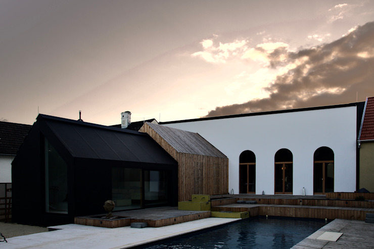 3rdskin architecture gmbh Eclectic style houses