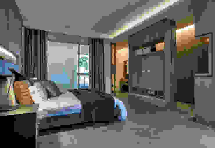 主臥室 根據 大也設計工程有限公司 Dal DesignGroup 現代風