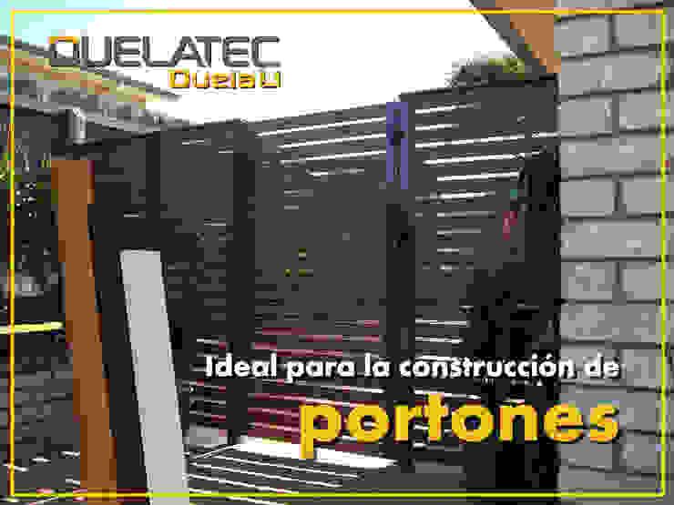 Lamitec SA de CV Front doors Metal Wood effect