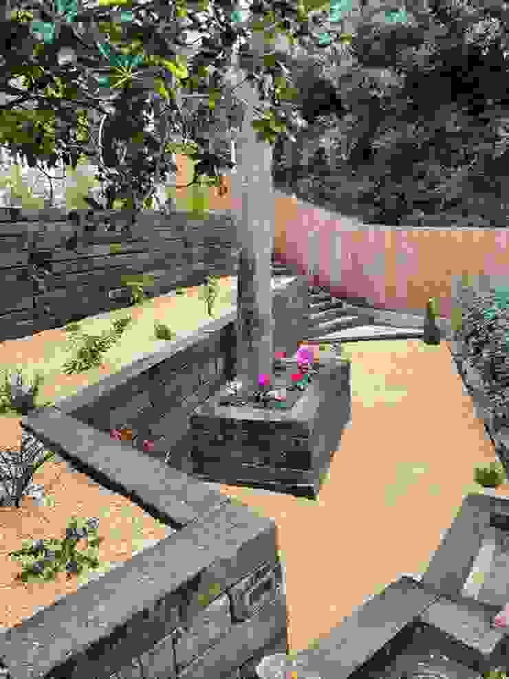 JARDINERIA DEL VALLES Сад в рустикальном стиле