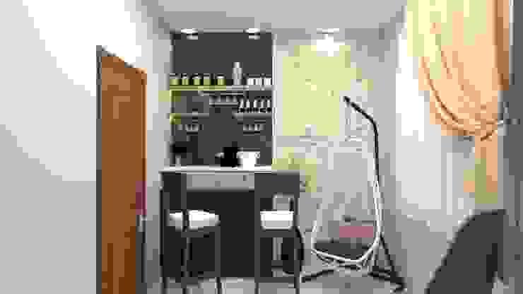 Small Bar Unit Falcon Globe Interio Modern wine cellar