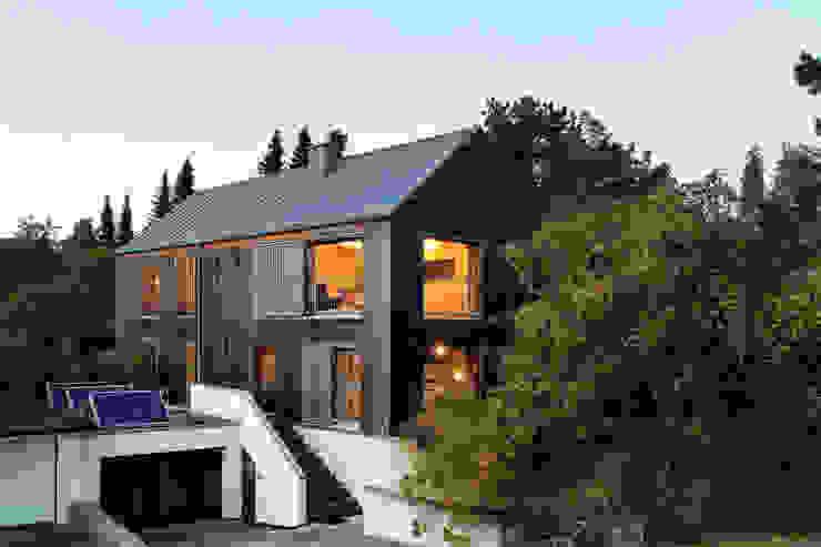 Einfamilienhaus im Taunus Architekturfotografie Tim Voelter Holzhaus