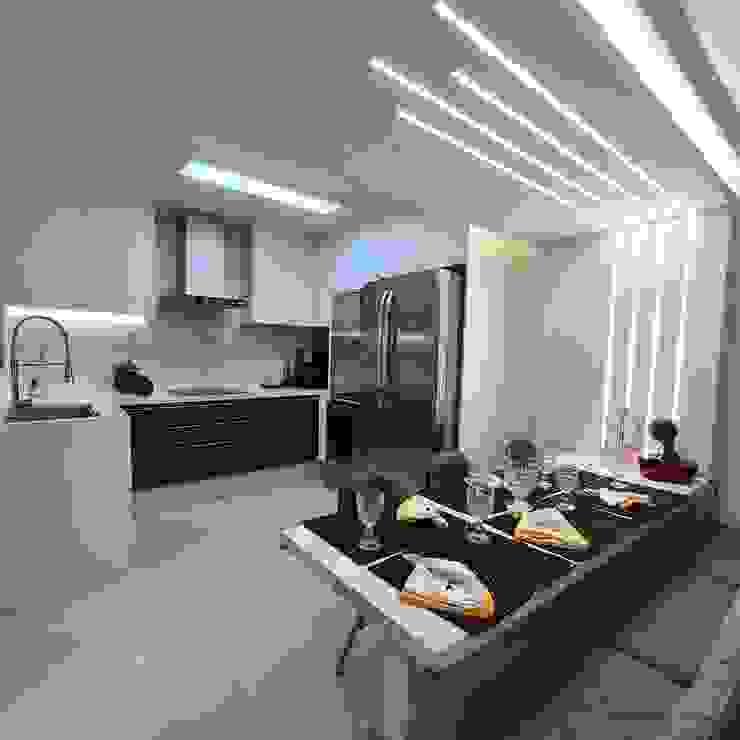 Arquitetura Minuto Кухня Дерево Металевий / срібло