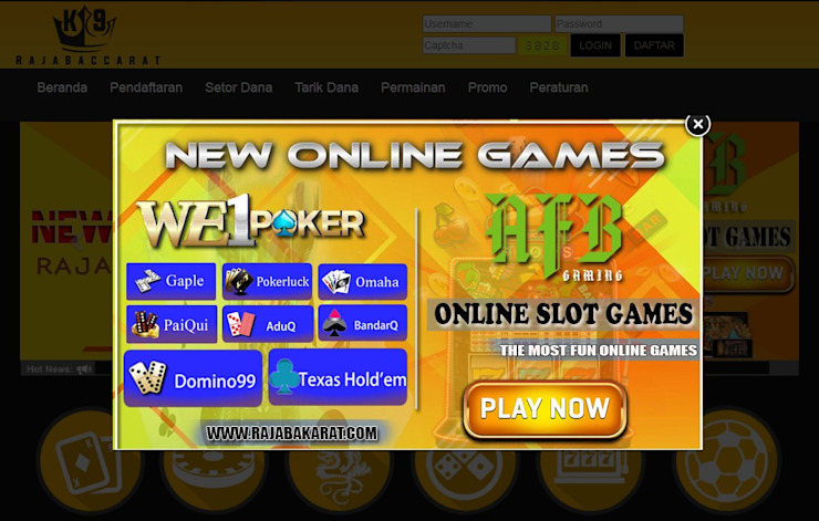 Rajabaccarat Situs Daftar Judi Slot Online24jam Terbaik 2021 Homify