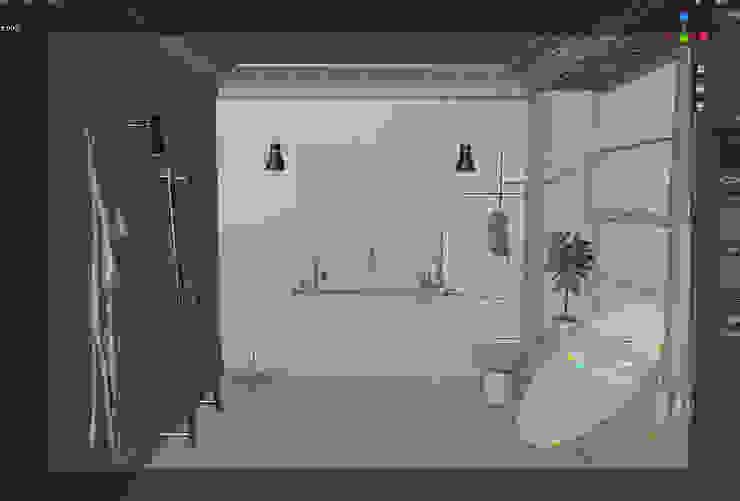 Alessandro Chessa Minimalist bathroom