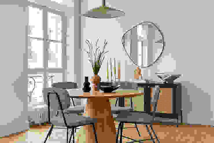 Lichelle Silvestry Interiors Comedores de estilo moderno