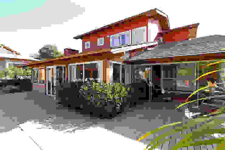 Graça Brenner Arquitetura e Interiores Maisons de campagne Bois Effet bois