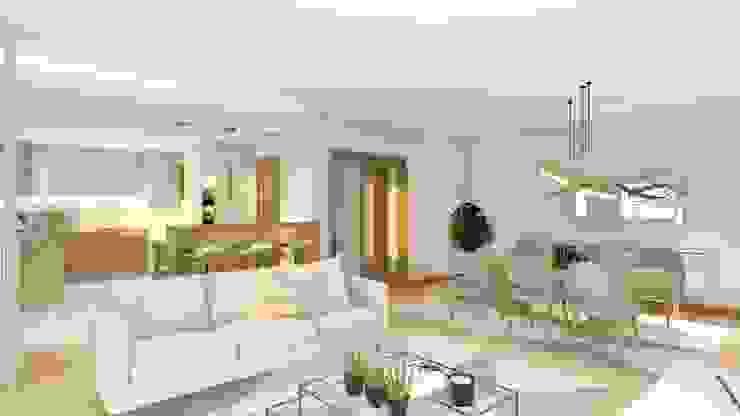 Janine Martins - Consultora Imobiliária | Arquitecta | Home Staging Ruang Keluarga Modern