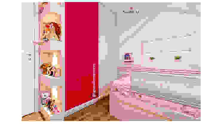 Sgabello Interiores Nursery/kid's roomWardrobes & closets MDF Pink