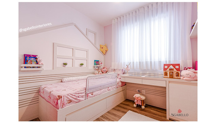 Sgabello Interiores Nursery/kid's roomBeds & cribs MDF Pink