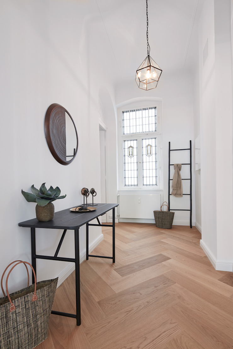 Ulla Schmitt Fotografie 現代風玄關、走廊與階梯