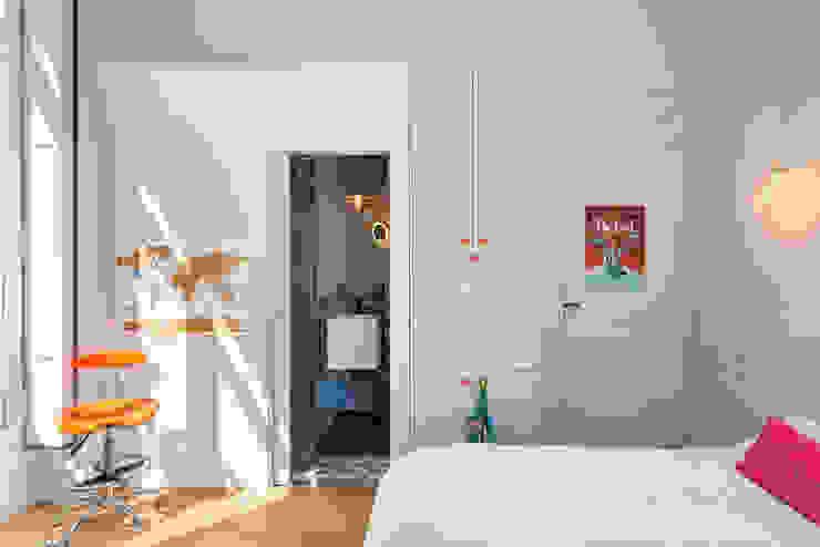 Rénovation d'une maison à Lyon Synesthésies Chambre classique