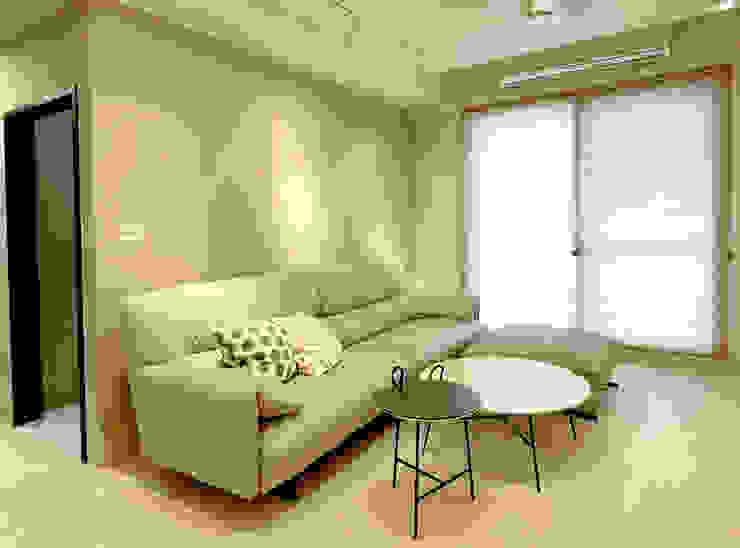 MSBT 幔室布緹 Salas de estilo moderno Beige
