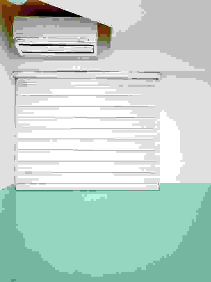 MSBT 幔室布緹 Cuartos de estilo minimalista Verde