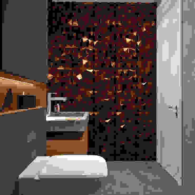 Proyecto ECP Diaf design Baños de estilo moderno