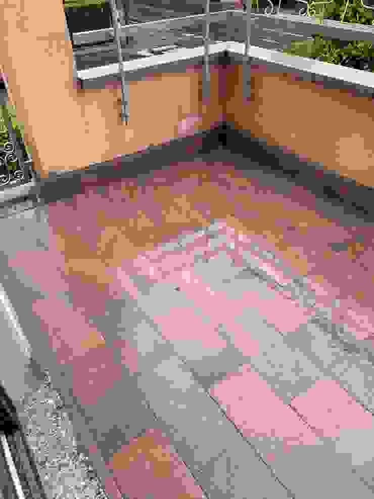 Piastrellatura balcone C.M.E. srl Balcone