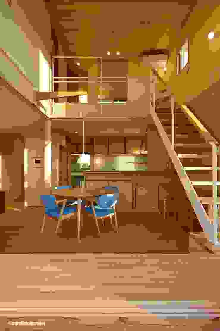 アグラ設計室一級建築士事務所 agra design room ห้องนั่งเล่น