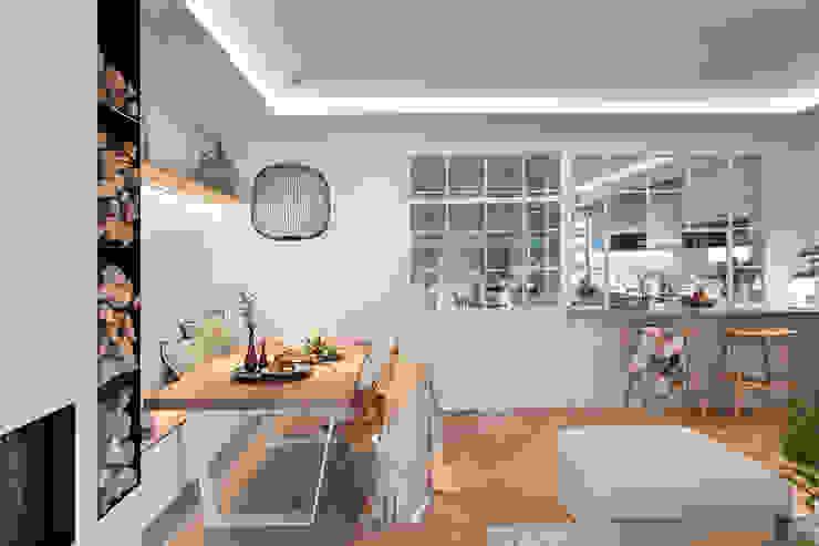 Egue y Seta Mediterranean style dining room