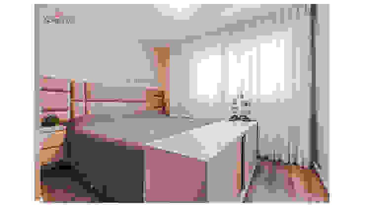 Sgabello Interiores BedroomBeds & headboards Wood Grey