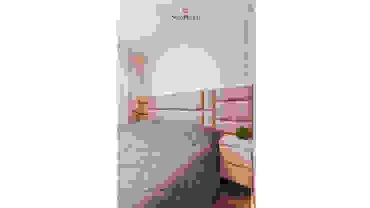 Sgabello Interiores BedroomBeds & headboards Cotton Beige
